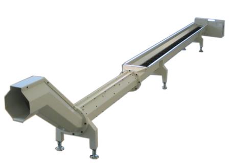 Шнековый транспортер для стружки элеватор в 1000